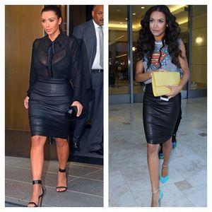 Dresses & Skirts - 💯 Black leather skirt